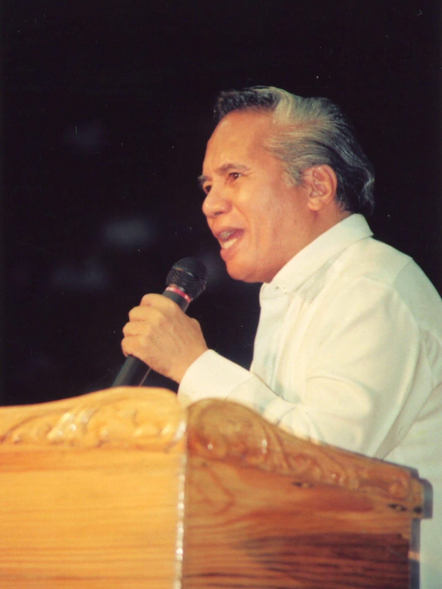 Bel. Hon. Pastor Wilde E. Almeda
