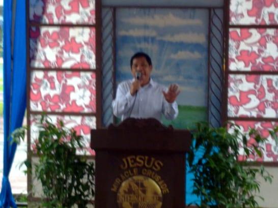 Testimony of Beloved Major Bobby Naguit